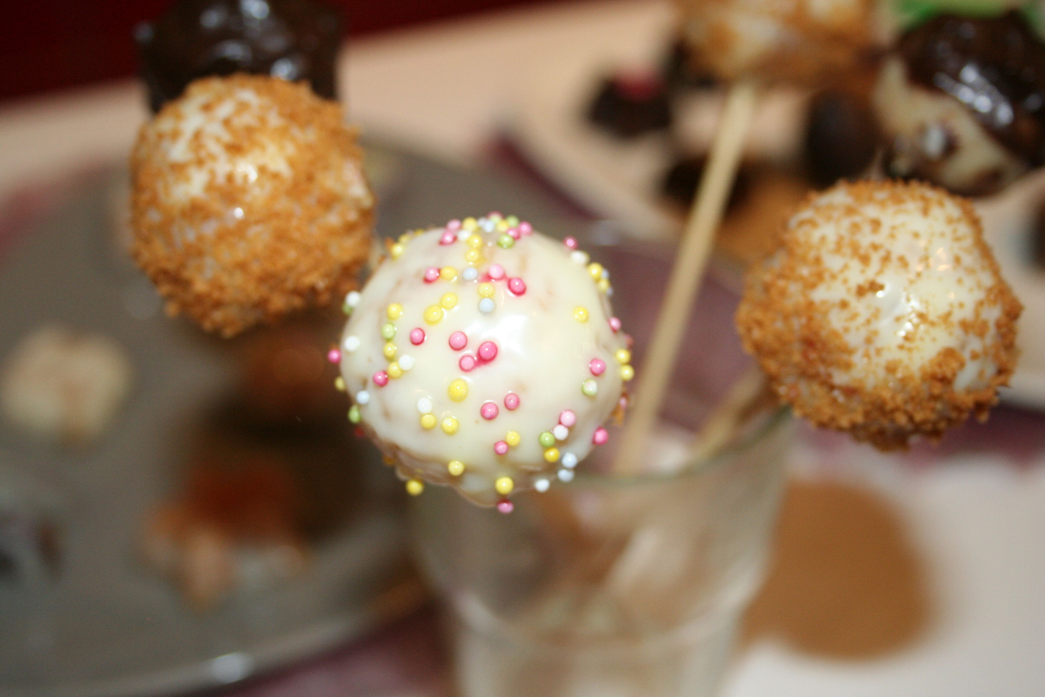 how to make nutella cake pops