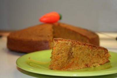 Un gâteau à la carotte très moelleux