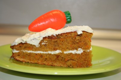 Une belle part de gâteau à la carotte / carrot cake