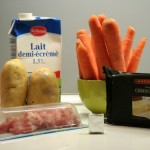 Ingrédients du potage Brighton