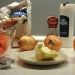 Ingrédients soupe à la carotte