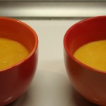 Soupe carotte et orange