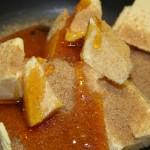 Ingrédient dans casserole