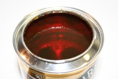 Intérieur boite golden syrup