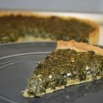 Part de tarte aux épinards