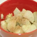 Pommes, sucre et canelle