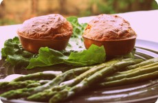 Muffins feta pignons de pin