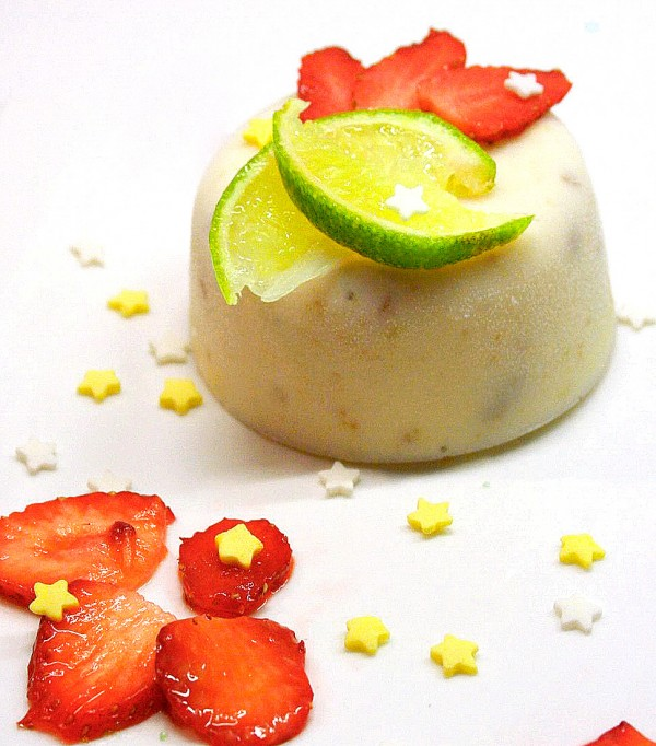 glace key lime pie - citron vert speculos