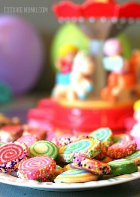 Biscuits de fête foraine