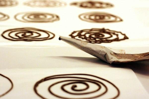 spirale au chocolat