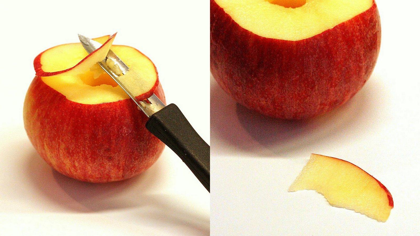 Gateau fleur aux pommes