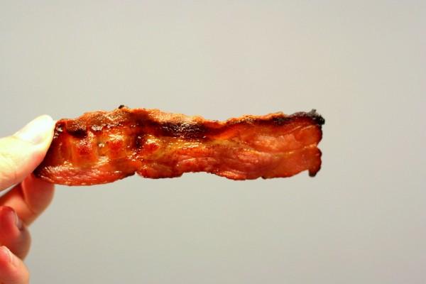 bacon croustillant comme aux USA