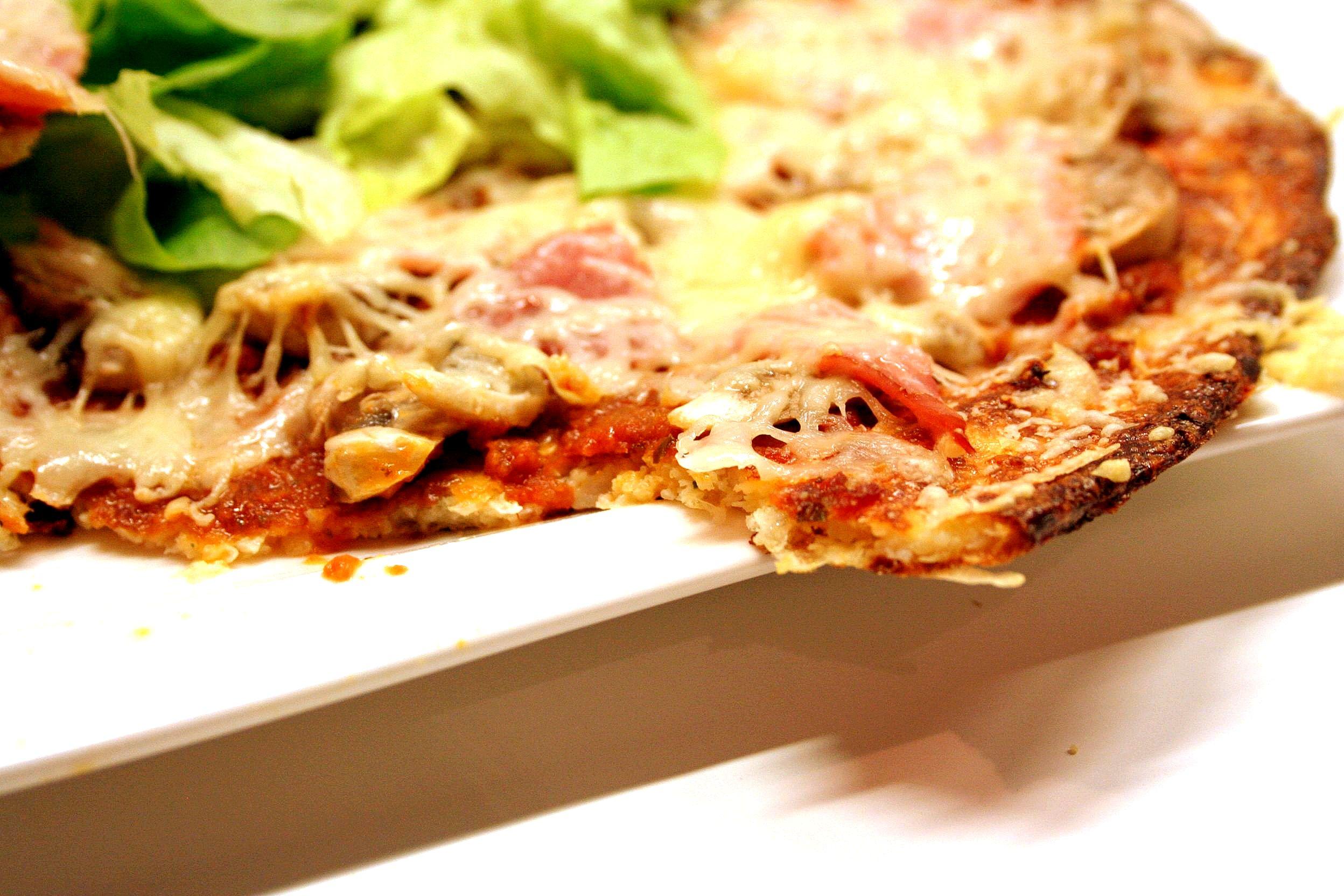 p te pizza base chou fleur sans gluten cooking mumu. Black Bedroom Furniture Sets. Home Design Ideas