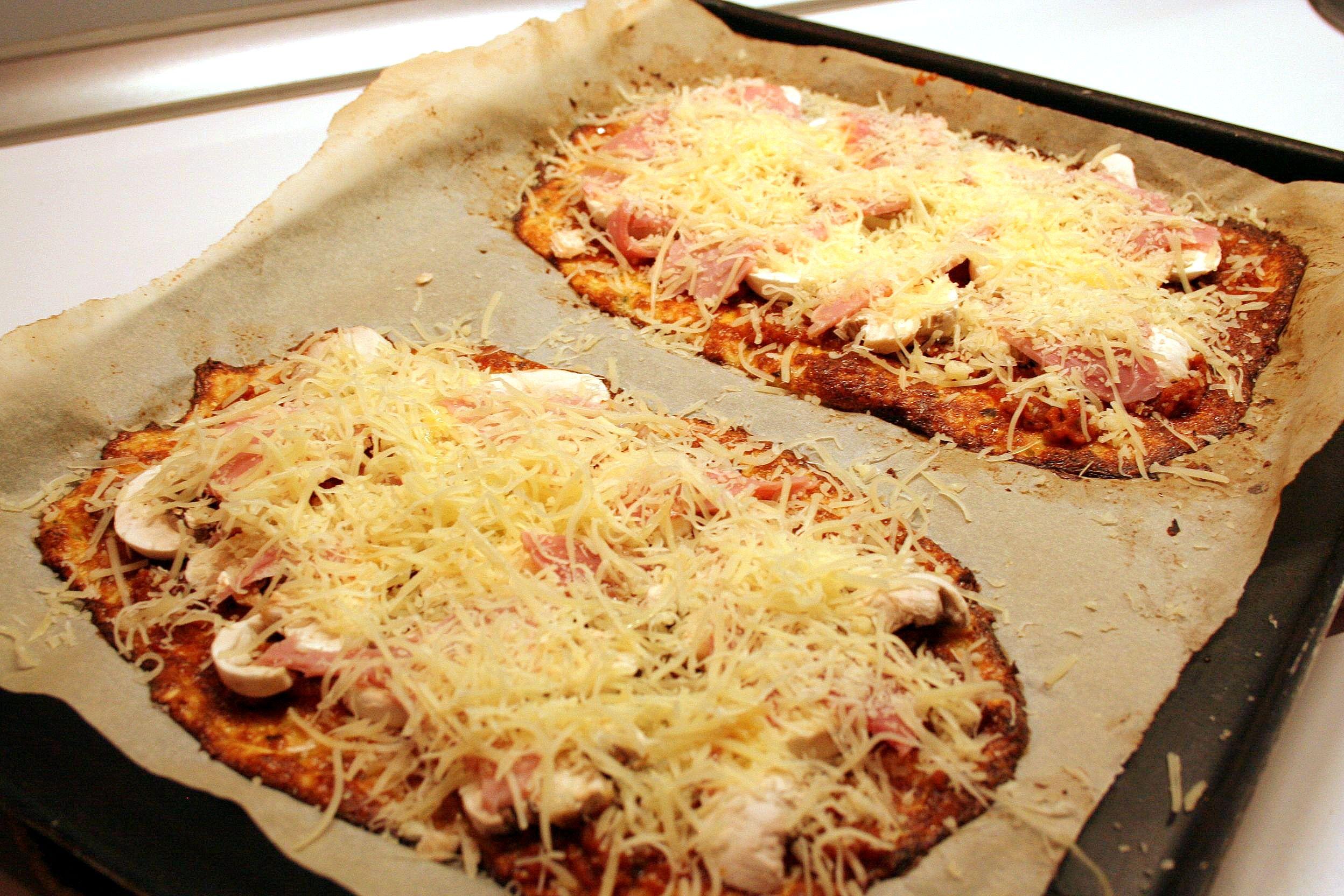 p 226 te 224 pizza base chou fleur sans gluten cooking mumu