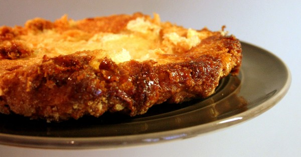 Croute caramelisée de kouign amann