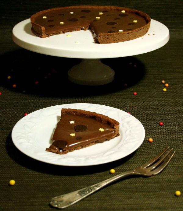 Part de tarte choco