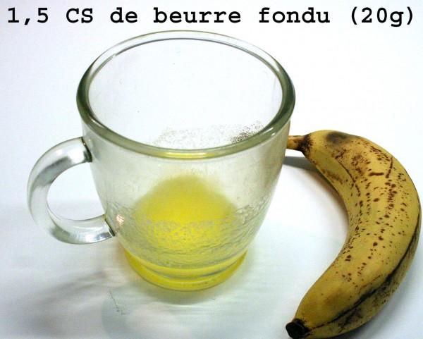 1 Beurre fondu