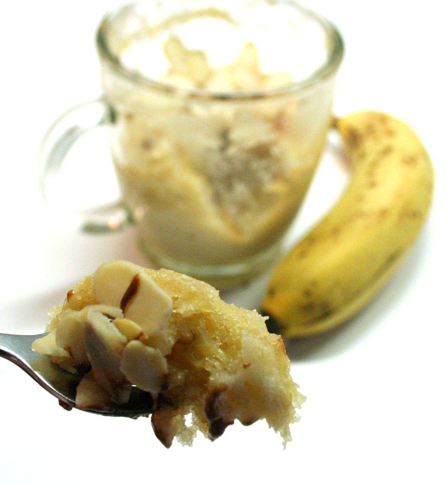 Mug Cake Banane Sans Oeufs