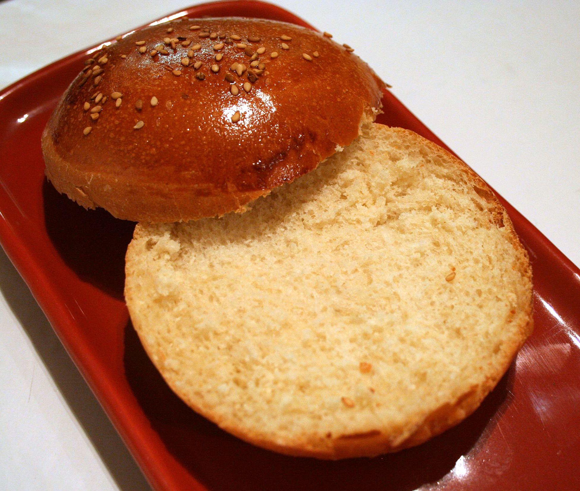 bun pour hamburger cooking mumu