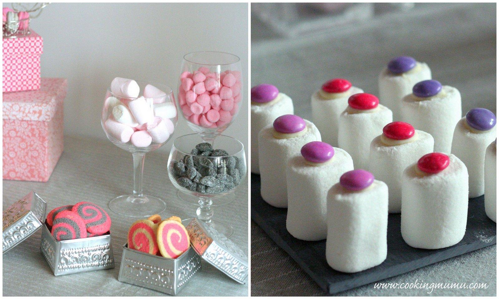 Sweet table en provence - Maison en biscuit et bonbons ...