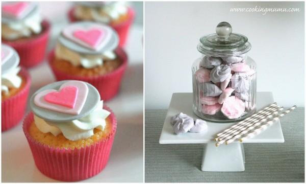 Cupcakes et meringues
