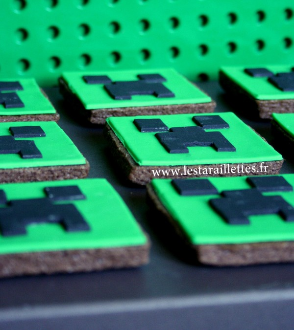 Biscuits creepers MINECRAFT