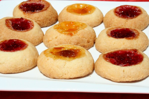 Biscuit confiture