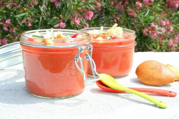 Pots de Gaspacho