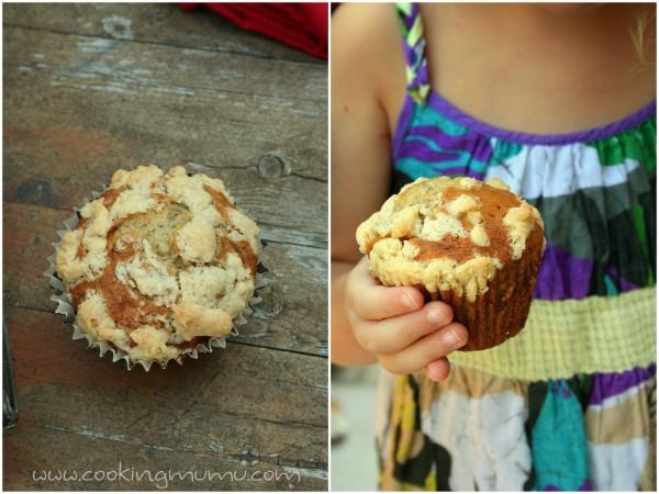 Les muffins de mini mumu