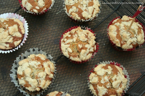 Muffins crumble et bananes