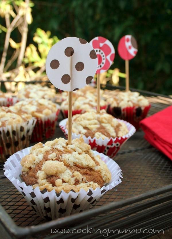 Muffins en caissettes