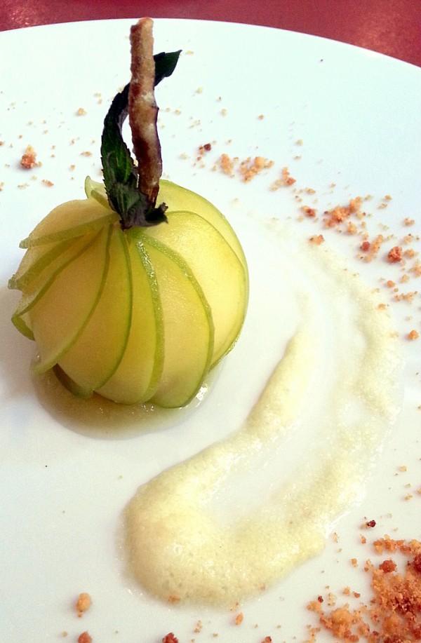 Dessert pomme Rabanel