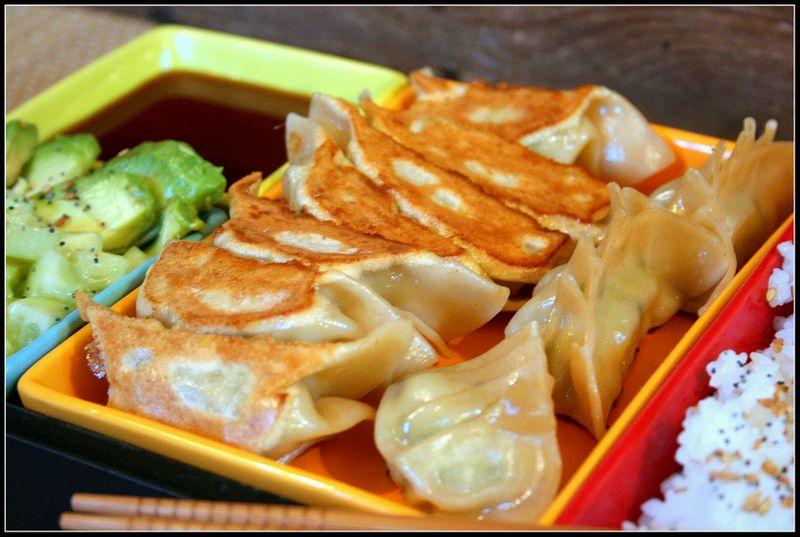 La cuisine japonaise Gyozas-grill%C3%A9s