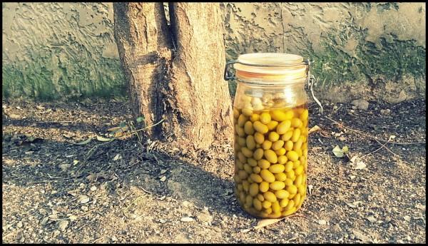Olives préparées