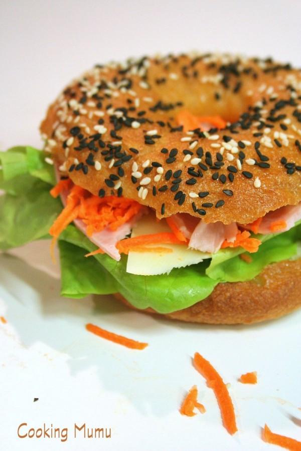 Bagel en sandwich