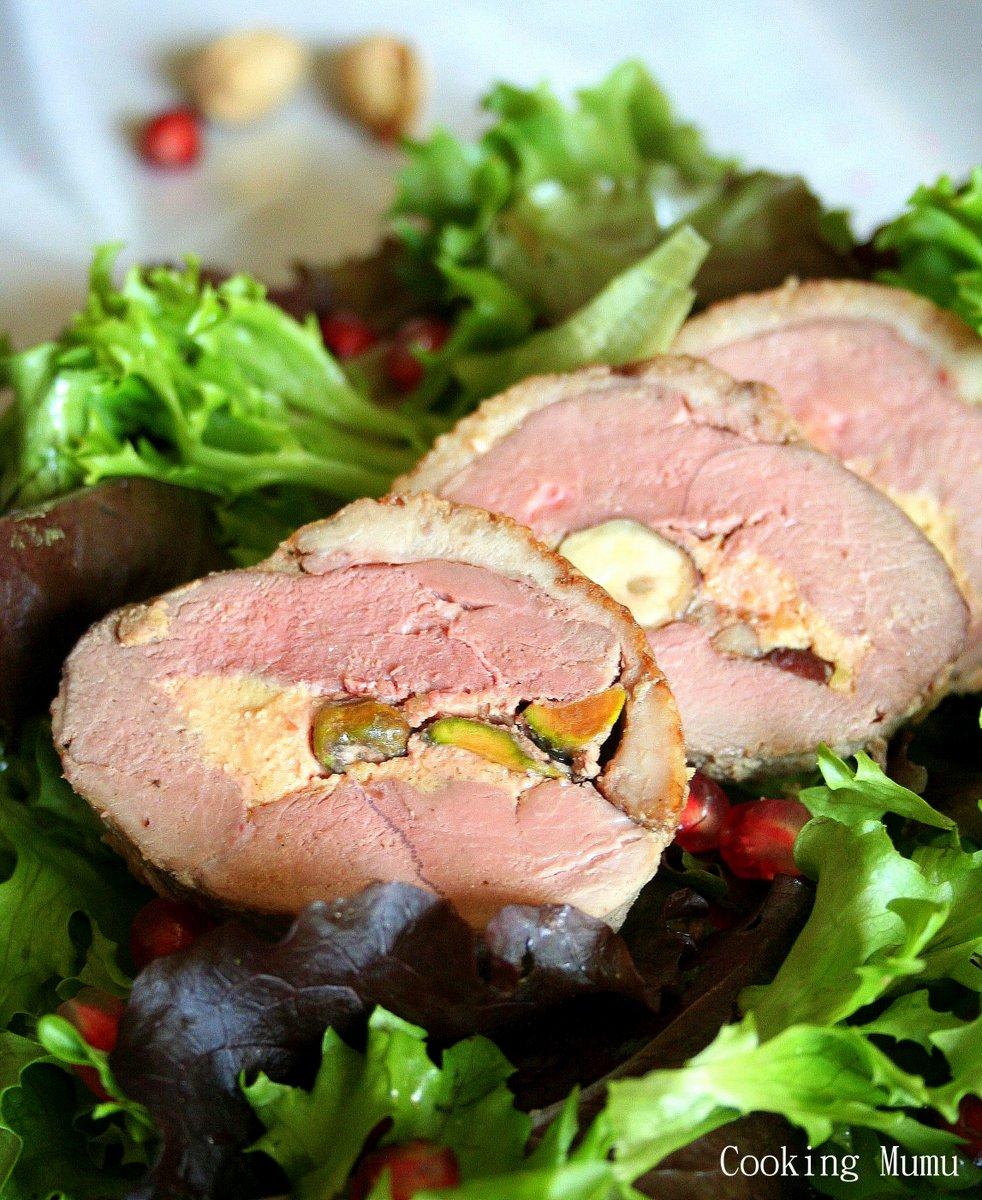 ballotine de magret de canard au foie gras et fruits secs cooking mumu. Black Bedroom Furniture Sets. Home Design Ideas
