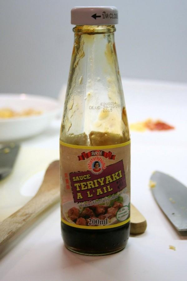 Sauce teriyaki à l'ail