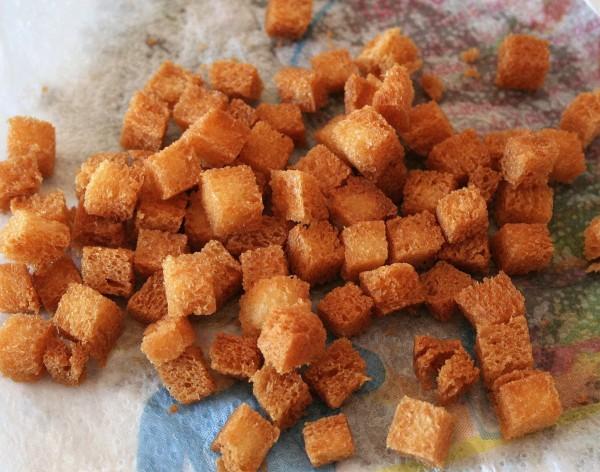 Croûtons frits
