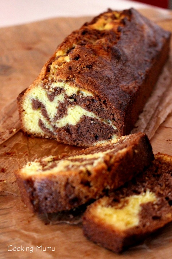 Gâteau marbré (2)