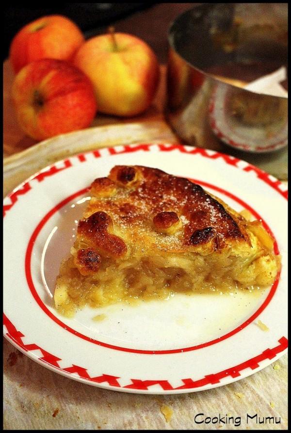 Part de Pie Tarte aux pommes Conticini