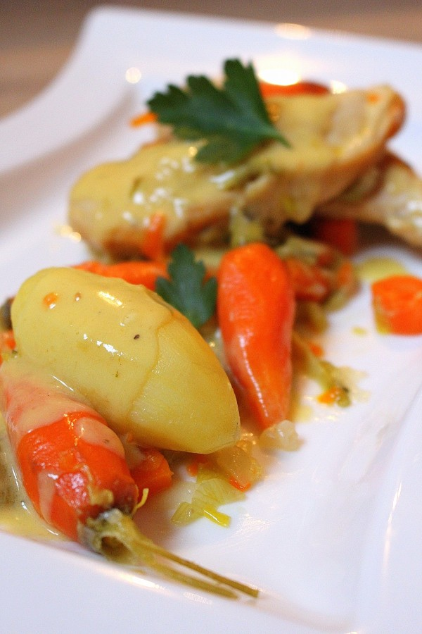 Patates et légumes