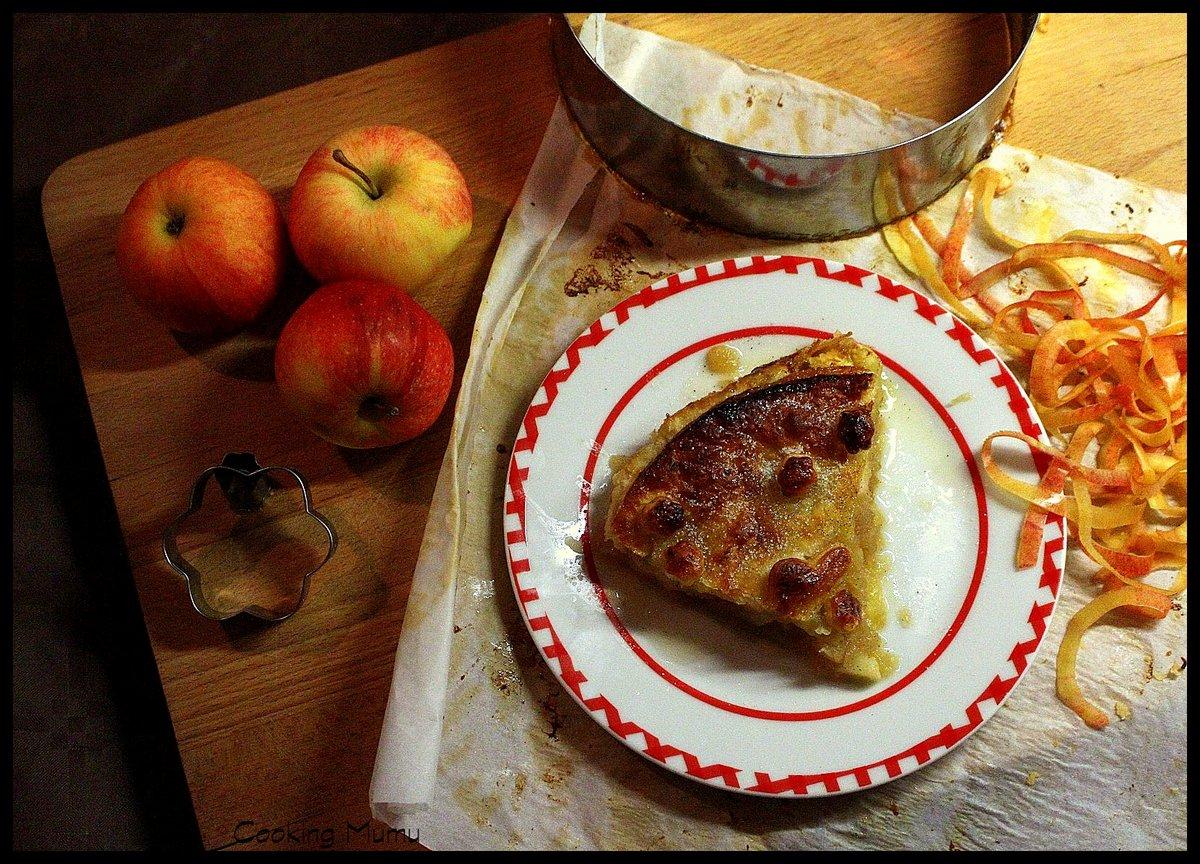 pie tarte aux pommes fa on p conticini cooking mumu. Black Bedroom Furniture Sets. Home Design Ideas