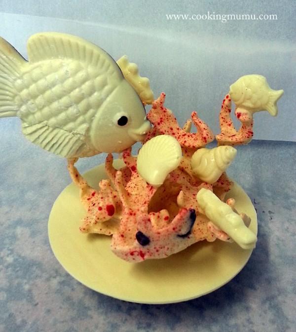 Poisson et corail