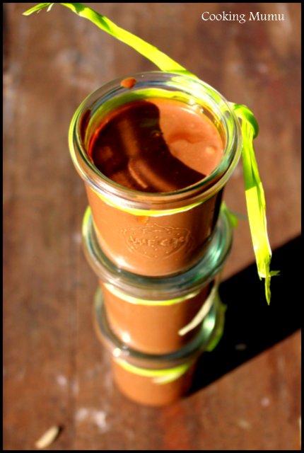 Pots de crèmes au chocolat