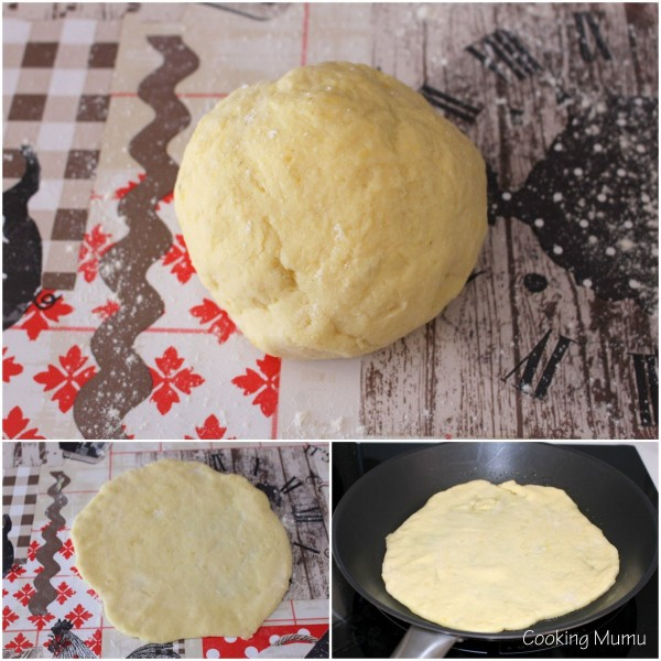 Etaler le potato bread