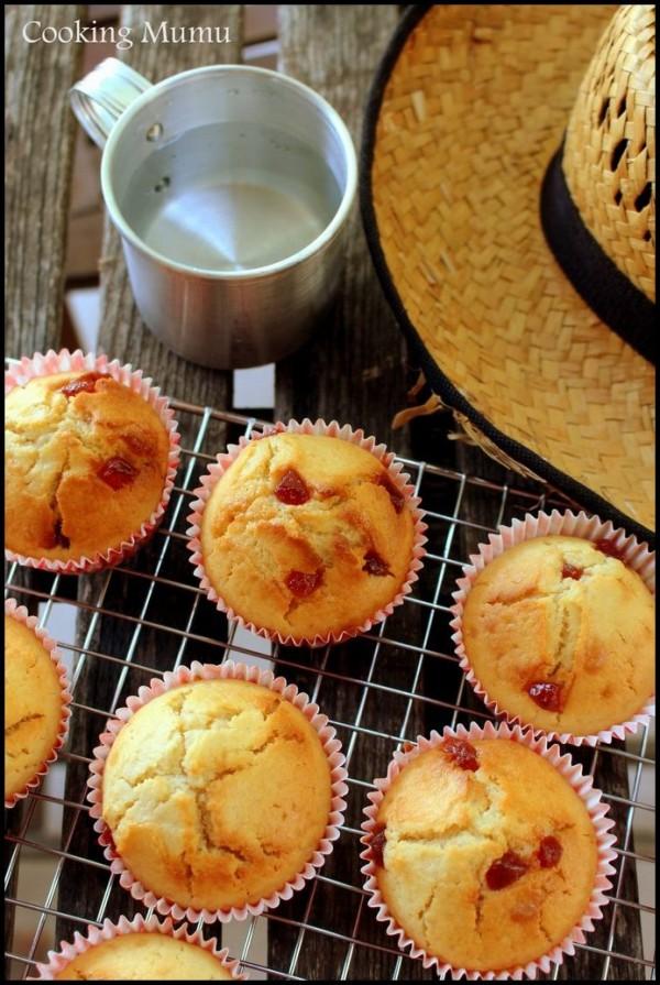 Muffins fraise