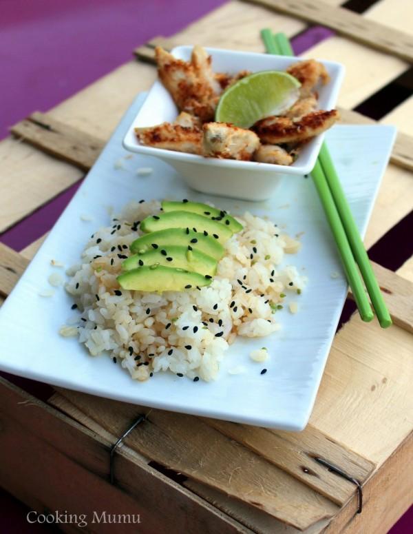 Polet citron coco riz japonais