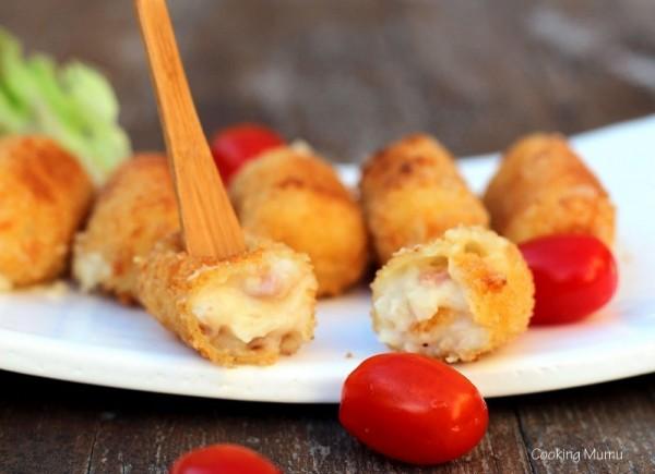 Croquettes jambon