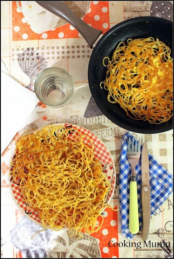 Galette de spaghetti (2)