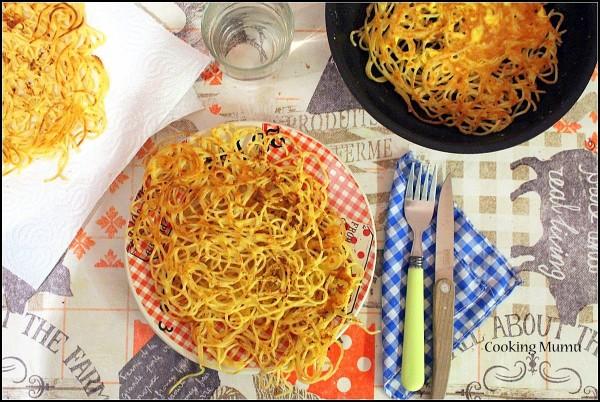Galette de spaghetti (3)